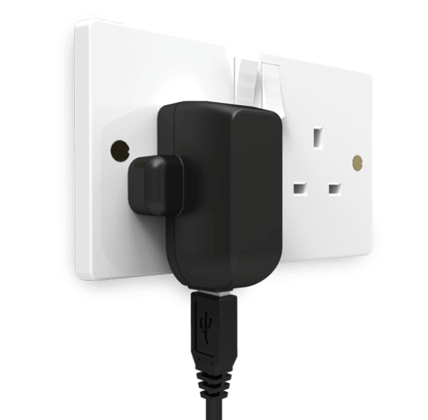 USB Power Adaptor in Plug