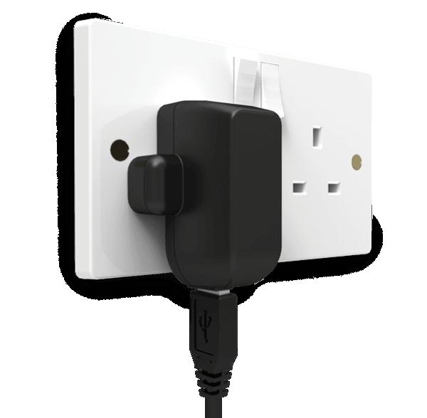 USB Power Adaptor in Plug
